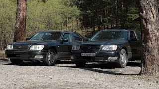 Download testDrive Lexus VS Toyota - LS400 vs Celsior Video