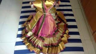 Download Varalakshmi saree drapping  How to drape saree for varalakshmi Gouri saree wrapping Gouri decoration Video