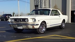 Download 1965 Ford Mustang GT Coupe in White Paint & Engine Sound on My Car Story with Lou Costabile Video