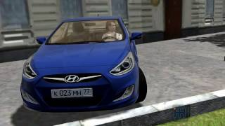 Download City Car Driving 1.5.1 Hyundai Solaris Sedan 2011 Video
