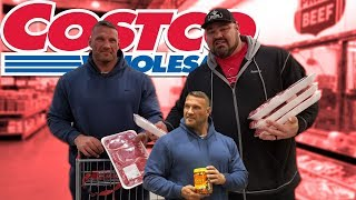 Download COSTCO SHOPPING TRIP WITH TERRY HOLLANDS | 25LBS OF MEAT | BRIAN SHAW Video