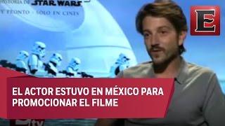 Download Rogue One encaja en la realidad que vivimos: Diego Luna Video