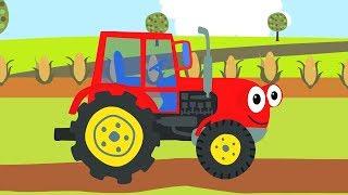 Download Песенки для детей - СБОРНИК про машинки: Бип-Бип , Трактор, Грузовик и другие песни для малышей Video