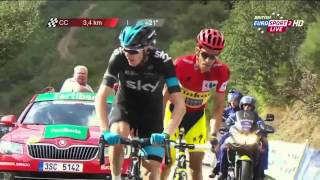 Download Vuelta a Espana 2014 Stage 16 FINAL KILOMETERS Video