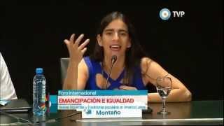 Download Gabriela Montaño Viana (Bolivia) Foro Internacional por la Emancipación e Igualdad Video