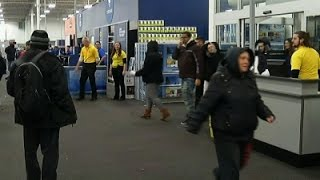 Download Raw: Black Friday Shoppers Rush Into Stores Video