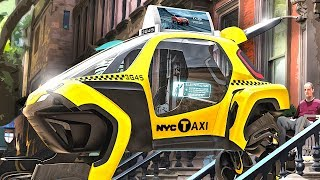 Download New Hyundai Elevate Electric Car Autonomous Taxi World Premiere Ultimate Mobility Vehicle CARJAM Video