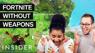 Download We Tried The 'Winning Fortnite With No Weapons' Challenge Video