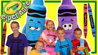 Download Crayola Experience Pennsylvania || Huge Indoor Playground! Video
