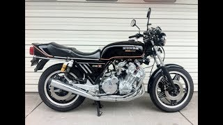 Download Honda CBX 1000 exhaust sound ''formura one? Video