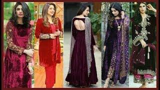 Download Velvet dresses ||Latest Velvet dress||New Dress Collection For Girls||Designer Dress||Beautiful You| Video