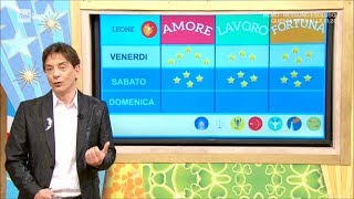 Download L'oroscopo del week end di Paolo Fox - I Fatti Vostri 16/03/2018 Video