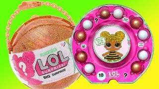 Download LOL Surprise Big Surprise Ball Blind Bags w/ Toys and Dolls -Girls Try On New Clothes Baby Doll Play Video
