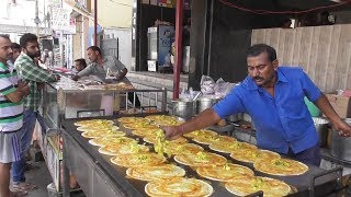 Download It's a Breakfast time in Hyderabad Street -SRI SAI KRISHNA Meals & Tiffins-100 Dosa Finished an Hour Video