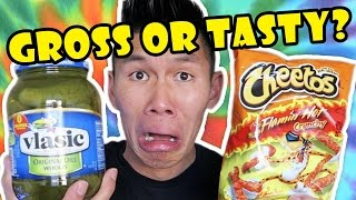 Download WEIRD FOOD COMBINATIONS || Gross or Tasty? - Life After College: Ep. 510 Video