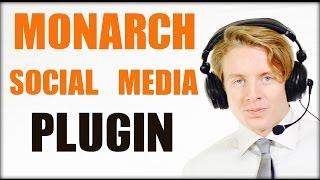Download Best Wordpress social media plugin 2016 - Monarch social media plugin Video