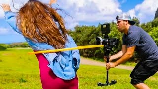 Download Duct taping a RED Camera to a Hula Hoop! Video