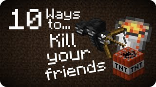 Download 10 Ways to... Kill your friends in Minecraft Video