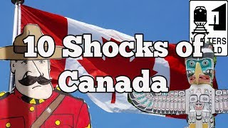 Download Visit Canada - 10 Things That SHOCK Tourists about Canada Video
