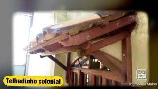 Download TELHADINHO COLONIAL DE PROTEÇÃO DE JANELA!!! Video