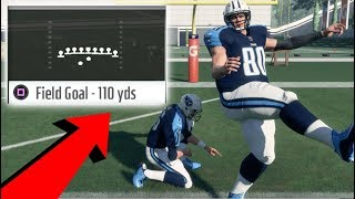 Download Is It Possible To Kick A 100 Yard Field Goal? Madden NFL 18 Challenge Video