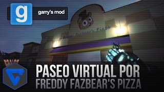 Download PASEO VIRTUAL POR FREDDY FAZBEAR'S PIZZA - FIVE NIGHTS AT FREDDY'S REAL PIZZERIA GMOD Video