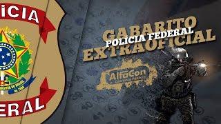 Download PF - Gabarito Extraoficial Polícia Federal 2018 - Correção da Prova - AO VIVO - AlfaCon Video