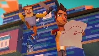 Download Minecraft | Hello Neighbor - SECRET MAP TO THE GRAVE!? (Hello Neighbor in Minecraft) Video