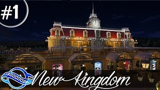 Download PLANET COASTER - New Kingdom Part 1 - Entrance & Train Station Video