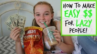 Download How to Make EASY Money for LAZY People! Video