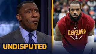 Download Shannon Sharpe reacts to LeBron revealing his training regimen with a former Navy SEAL | UNDISPUTED Video