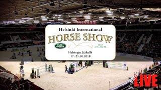 Download 🔴 LIVE | TO | Helsinki International Horse Show | 17.-21.10.2018 Video