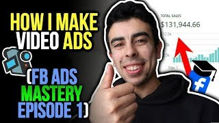 Download HOW I MAKE MY VIDEO ADS FOR SHOPIFY DROPSHIPPING - FACEBOOK ADS MASTERY: EPISODE 1 :) Video