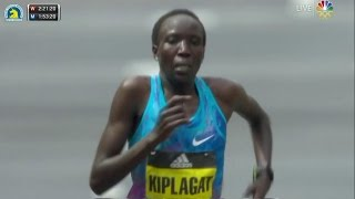 Download 2017 Boston Marathon: Edna Kiplagat wins Women's Elite Video