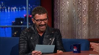 Download Antonio Banderas Can Make Anything Sound Sexy Video