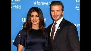Download Priyanka Chopra and David Beckham UNICEP Ambassadors Share Stage Video