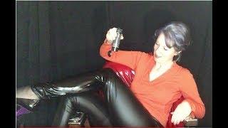 Download New shiny black leggings! Video