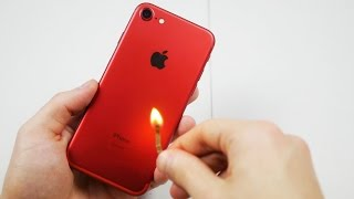 Download Is the Red iPhone 7 Actually Fire Resistant? Video