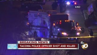 Download Tacoma police officer shot and killed Video