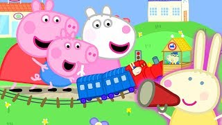 Download Peppa Pig Official Channel | Peppa Pig Meets Mini Miss Rabbit at the Tiny Land Video