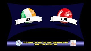 Download ΙΡΛΑΝΔΙΑ - ΤΟΥΡΚΙΑ / IRELAND REP. - TURKEY (EDFC 2019, GROUP B) Video