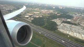 Download Air Canada Boeing 787 take off from Toronto YYZ airport Video