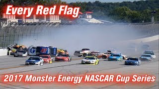 Download Every Red Flag: 2017 Monster Energy NASCAR Cup Series Video