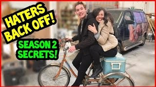 Download HATERS BACK OFF! Behind the scenes of Season 2! Video