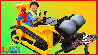 Download BullDozer CAT Power Wheels Ride On Car Kids Construction Vehicle Video