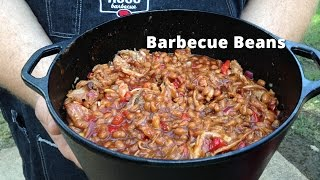 Download Barbecue Baked Beans on the Smoker | Smoked Baked Beans Malcom Reed HowToBBQRight Video