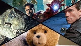 Download 2015 Summer Movie Preview: Avengers 2, Jurassic World, Terminator & More! Video