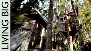 Download Incredible DIY Tiny Tree House Tour Video