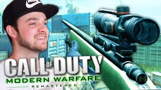 Download THE BEST CALL OF DUTY RETURNS! (Modern Warfare Remastered LIVE w/ Ali-A) Video