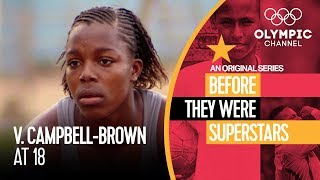 Download Veronica Campbell-Brown Before Winning 8 Olympic Medals | Before They Were Superstars Video